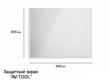 Фото Защитный экран из бронированного пластика WD-13