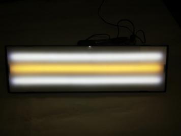 Фото Средняя лампа ULTRA VISION LED, 12V, 60 см, 3 полосы, без диммера