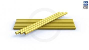 Фото Клеевые стержни DentOut для холодной погоды, желтые (10 штук)