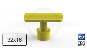 Фото Клеевой грибок NUSSLE SUPER, прямоугольный, 32*16 мм