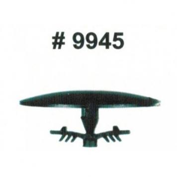 Фото Комплект клипс для автомобилей Acura, черные, 15 штук (Ø отверстия 7.5 мм, Ø шляпки 30 мм)
