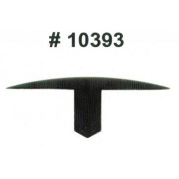 Фото Комплект клипс для автомобилей GM, черные, 25 штук (Ø отверстия 7.1 мм, Ø шляпки 40 мм)