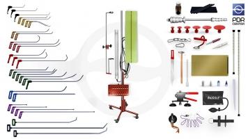 Фото Максимальный набор с большой двойной лампой (30 крючков, 4 насадки, 16 аксессуаров, клеевая система, большая двойная лампа)
