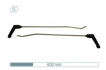 Фото Крюки с поворотными ручками 12006-2 (PR Bras-2 (Platinum))
