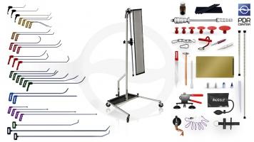 Фото Максимальный набор с большой LED лампой Ultra Dent (30 крючков, 4 насадки, 18 аксессуаров, клеевая система, большая лампа)