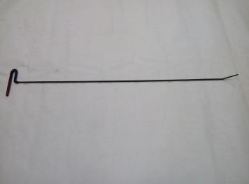 Фото Крючок Ø 7 мм, длина 1100 мм,угол загиба 45º.