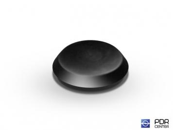 Фото Заглушки твёрдые из черного пластика (Ø 19 мм)