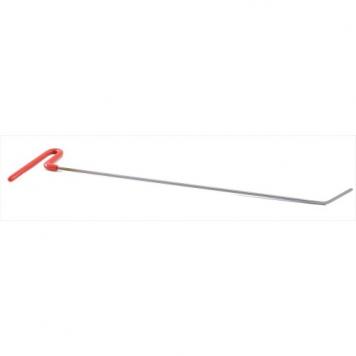 Фото Крючок со стандартным загибом, плоский  (длина 50 см, угол загиба 37º, длина загиба 55 мм, Ø 5 мм)