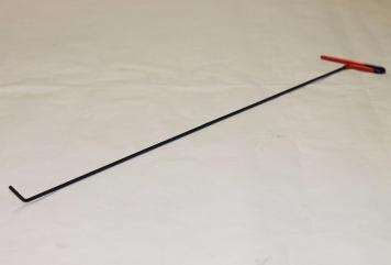 Фото Крючок Ø 5 мм, длина 850 мм,угол загиба 45º.