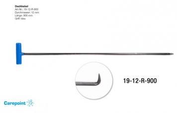 Фото Градовая штанга длина 89 см, длина загиба 4 см, угол загиба 90º, Ø12 мм.