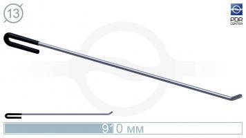 Фото Крючок с загибом 35º под винтовые насадки (длина 91 см, угол загиба 35º, Ø 13 мм)