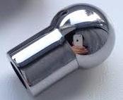 """Фото Сменная насадка """"Шар"""", нержавеющая полированная сталь, М8"""