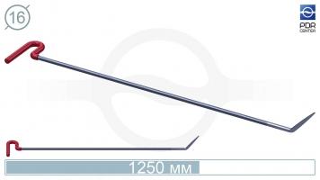 Фото Крючок со стандартным загибом, стандартный кончик (длина 120 см, длина загиба 120 мм, Ø 16 мм)