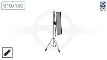 Фото Средняя лампа ULTRA VISION LED, 12V, 60 см, 4 полосы, без диммера