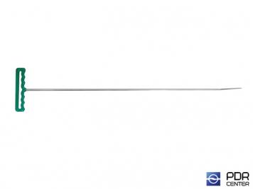 Фото Крючок со стандартным загибом, плоский (длина 75 см,  угол загиба 45º, длина загиба 75 мм, Ø 8 мм)