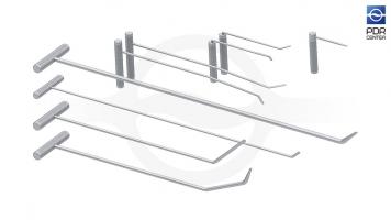 Фото Аналог набора A1 Starter Set - Комплект крючков из высокоуглеродистой нержавеющей стали, 9 крючков