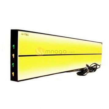 Фото 4х полосный LED плафон PL-1 hard, размер 920х175 мм