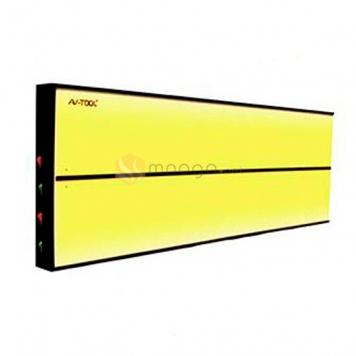 Фото 4х полосный LED плафон PL-2 hard, размер 600х200 мм