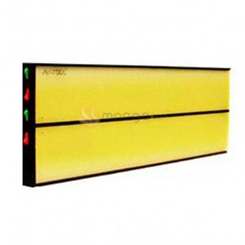 Фото 4х полосный LED плафон PL-3hard, размер 450х150 мм