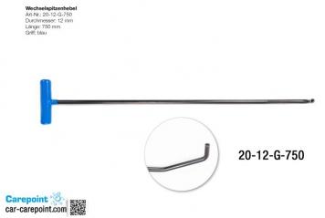 Фото Штанга под насадки длина 65 см, длина первого загиба 12 см, длина второго загиба 4 см, угол загиба 90º, Ø 13 мм.