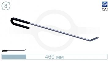 Фото Крючок с загибом 35º под насадки А35/36 (длина 46 см, угол загиба 35º, Ø 8 мм)