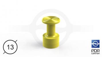 Фото NUSSLE PROFI Пистоны для минилифтера (Ø 13, желтые)