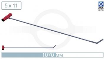 Фото Крючок со стандартным загибом (длина 107 см,  угол загиба 45º, Ø 11 мм)