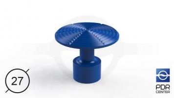 Фото NUSSLE PROFI Пистоны для минилифтера (Ø 27, синие)