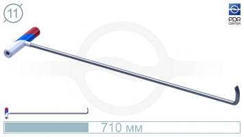 Фото Крючок PDRC-8 Длина крючка 70 см. Длина загиба 5 см. Угол загиба 90°. Ø11 мм