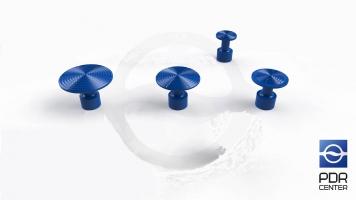 Фото Набор клеевых грибков NUSSLE PROFI, синие, 4 шт