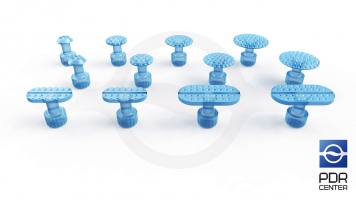 Фото Клеевые грибки Keco Iсe (комплект из 12-ти штук)