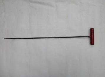 Фото Крючок Ø 8 мм, длина 620 мм,угол загиба 90º(плавный).