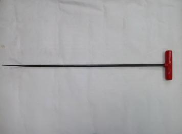 Фото Крючок Ø 10 мм, длина 690 мм,угол загиба 45º.