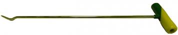 Фото KAZ-3 Platinum Общая длина 47 см. До загиба 40 см. Угол загиба 45°. Ø8 мм.