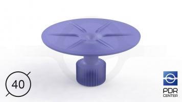 Фото Клеевой грибок Wurth, фиолетовый, круглый