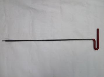 Фото Крючок Ø 7 мм, длина 640 мм,угол загиба 35º.
