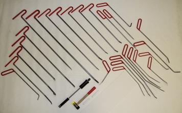 Фото Набор инструментов для удаления вмятин Pro Tools 26 крючков