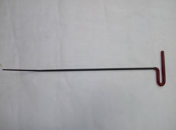 Фото Крючок Ø 8 мм, длина 620 мм,угол загиба 45º.