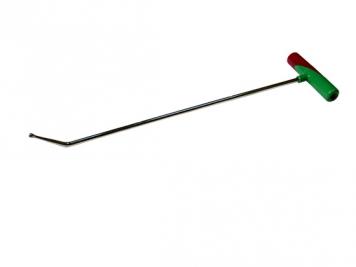 Фото Крючок №11n Длина 48 см.Длина загиба 6 см,угол загиба 50°.Ø8 мм.