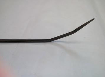 Фото Крючок Ø 11 мм, длина 1260 мм,угол первого загиба 45º,угол второго загиба 20º