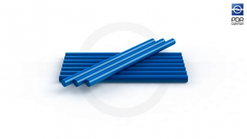 Фото Клеевые стержни, 8 штук, синие