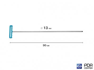 Фото Крючок градовый для винтовых насадок (длина 90 см, Ø 13 мм)