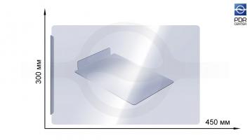 Фото Прозрачный защитный экран 450х300 мм