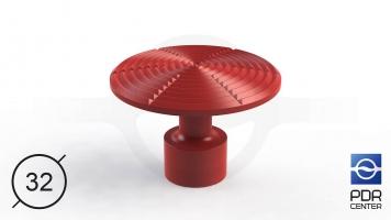 Фото NUSSLE PROFI Пистоны для минилифтера (Ø 32, красные)