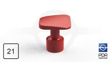 Фото NUSSLE PROFI Пистоны для минилифтера, квадратные (21 мм * 21 мм, красные)