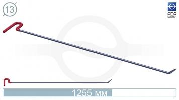 Фото Крючок со стандартным загибом, стандартный кончик (длина 125.5 см, угол загиба 45º, длина загиба 65 мм, Ø 13 мм)