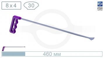 """Фото """"Ласточкин хвост"""", средний (плоский, длина 505 мм, фиолетовый)"""