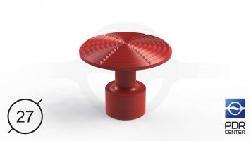 Фото NUSSLE PROFI Пистоны для минилифтера (Ø 27, красные)