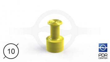 Фото NUSSLE PROFI Пистоны для минилифтера (O 10, желтые)