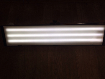 Фото Большой светодиодный плафон с пультом д/у, 6 полос, диммер(регулировка яркости), 220V